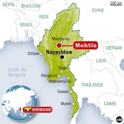 Remarquable Comment choisir un moyen de transport en voyant la Birmanie carte KQ-22